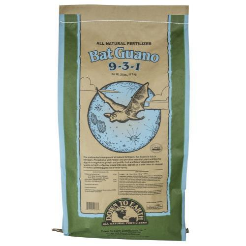 Down To Earth Bat Guano - 25 lb