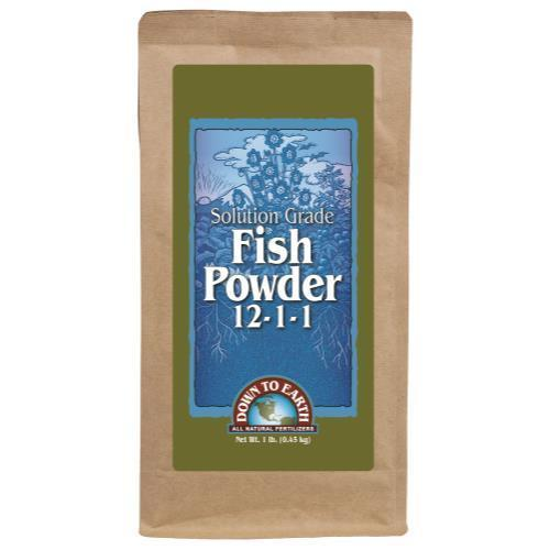 Down To Earth Fish Powder - 1 lb (6/Cs)