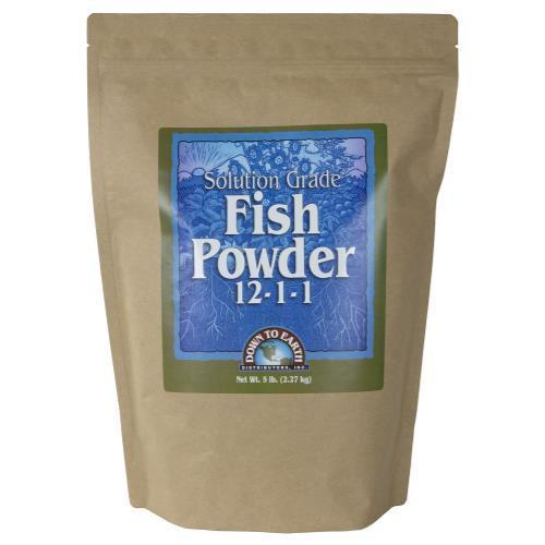 Down To Earth Fish Powder - 5 lb (6/Cs)