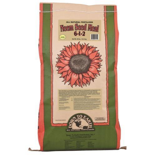 Down To Earth Neem Seed Meal - 40 lb