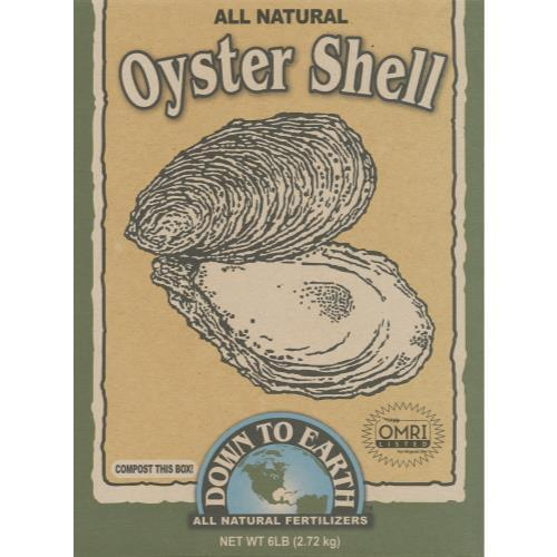 Down To Earth Oyster Shell - 6 lb (6/Cs)