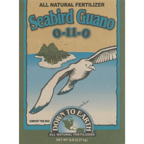 Down To Earth Seabird Guano - 5 lb (6/Cs)
