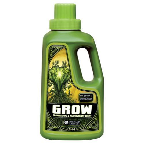 Emerald Harvest Grow Quart/0.95 Liter (12/Cs)