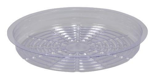 Gro Pro Clear Plastic Saucer 10 in Case of 50