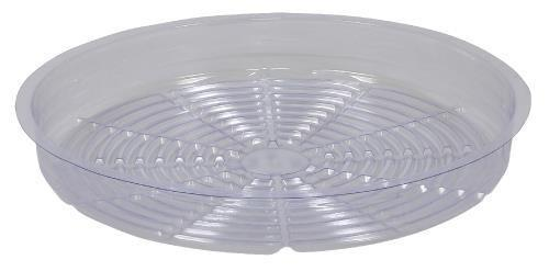 Gro Pro Clear Plastic Saucer 14 in Case of 25