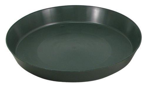 Green Premium Plastic Saucer 14 in (40/Cs)