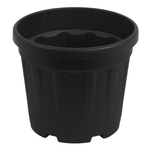 Gro Pro Round Ribbed Tub 2.4 Gallon - 9 Liter (1400/Plt)