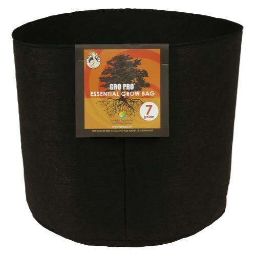Gro Pro Essential Round Fabric Pot 7 Gallon