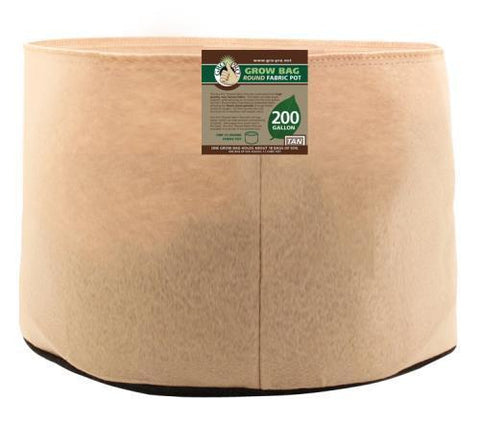 Gro Pro Premium 200 Gallon Round Fabric Pot-Tan (10/Cs)