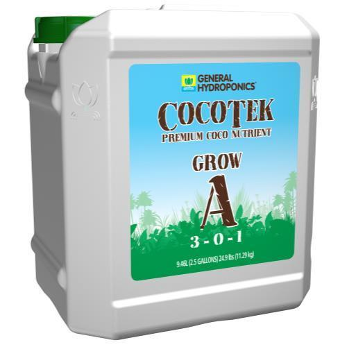 GH Cocotek Coco Grow - A & B 2.5 Gallon Case of 2