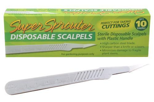 Super Sprouter Sterile Disposable Scalpel Box of 10