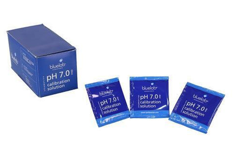 Bluelab pH 7.0 Calibration Solution 20 ml Sachets Box of 25
