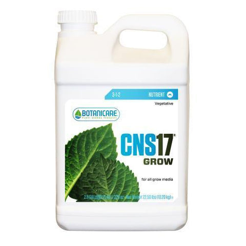 Botanicare CNS17 Grow 2.5 Gallon (2/Cs)