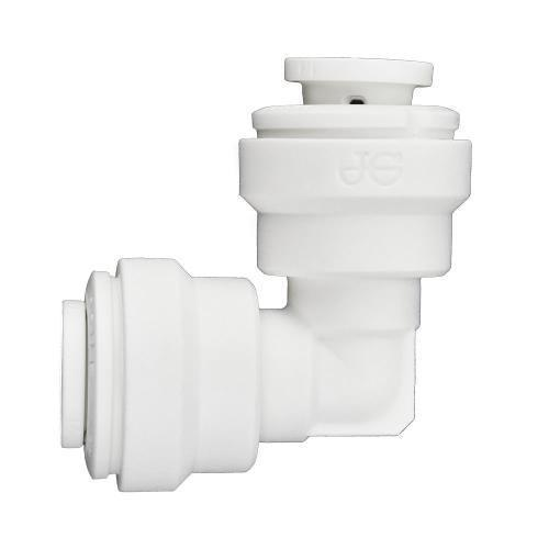 Ideal H2O JG Quick Connect Fitting - Elbow - 1/4 in - White Bag of 10