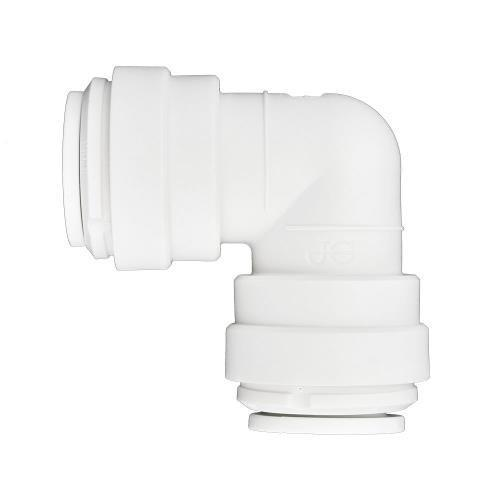 Ideal H2O JG Quick Connect Fitting - Elbow - 1/2 in - White bag of 10