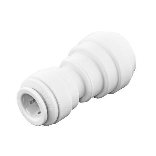Ideal H2O JG Quick Connect Reducer Fitting - Union - 1/4 in to 3/8 in - White Bag of 10