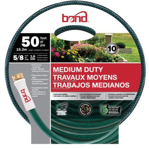 Bond Medium Duty Hose 5/8 in 50 ft (5/Cs)
