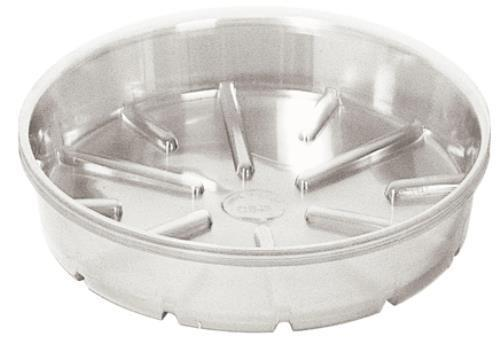 Bond Clear Plastic Saucer 12 in Case of 25