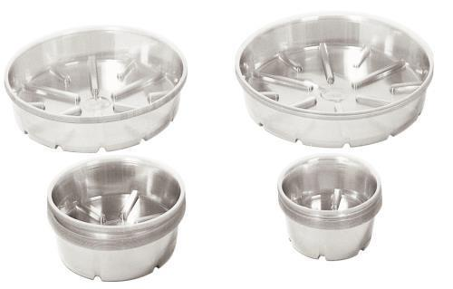 Bond Clear Plastic Saucer 21 in Case of 25