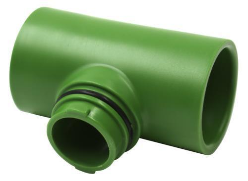 FloraFlex Flora Pipe Fitting 1 in Tee (250/Cs)