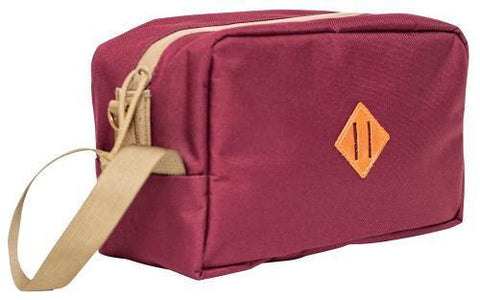 Abscent Toiletry Bag - Crimson