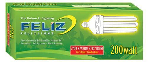 Feliz Red Fluorescent 200 Watt 2700K (12/Cs)