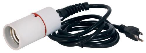 8 ft Power Cord w/ Mogul Base Socket