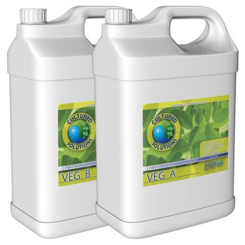 Cultured Solutions Veg A 5 Gallon (1/Cs)
