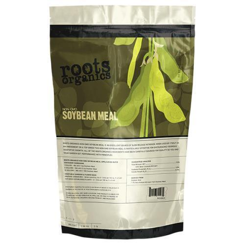 Roots Organics Non-GMO Organic Soybean Meal 40 lb (1/Cs