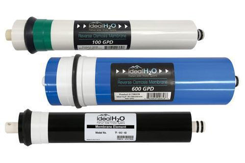 Ideal H2O High Output RO Membrane - 350 GPD - Replacement for MixR and High Output RO