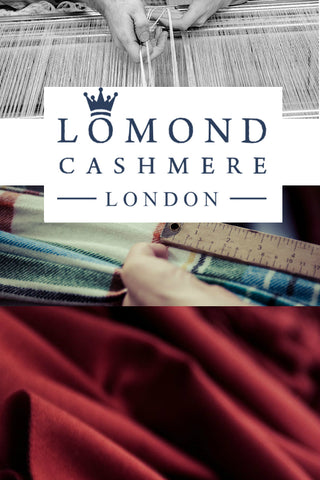 Lomond Cashmere Scarves Made in Scotland | Shop now at The Cashmere Choice | London