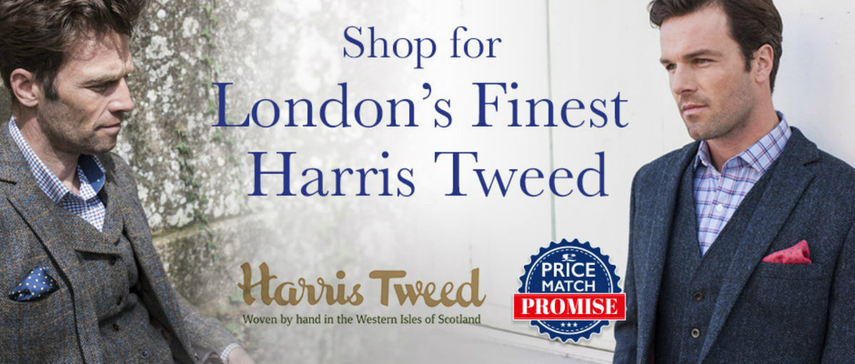 The Cashmere Choice | Shop for London's Finest Harris Tweed
