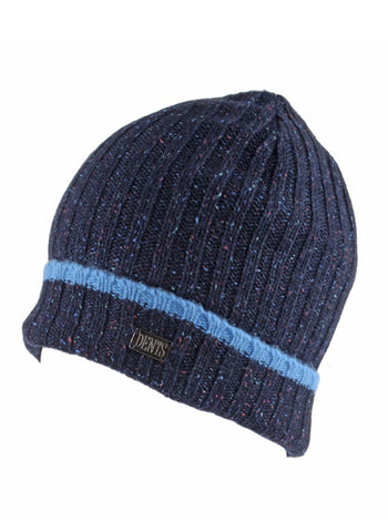 Dents - Lambswool Marl Knitted Beanie