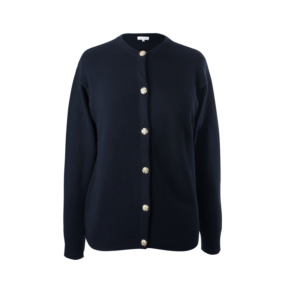 Ladies 3-Ply Cashmere Cardigan | Navy Blue | Shop at The Cashmere Choice | London