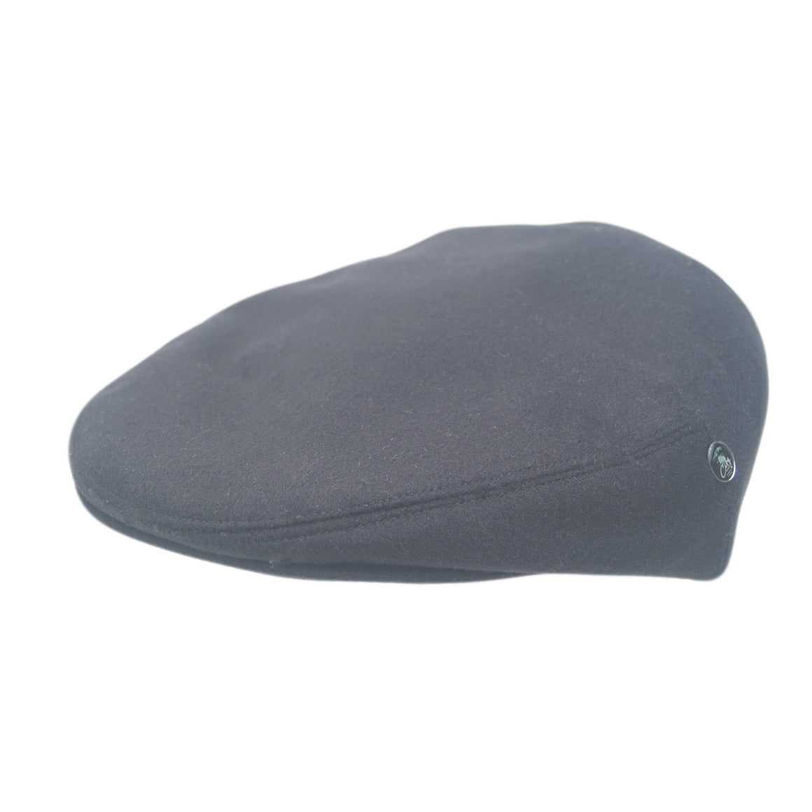 Black Mens Flat Cap | Loden by City Sport| buy now at The Cashmere Choice London