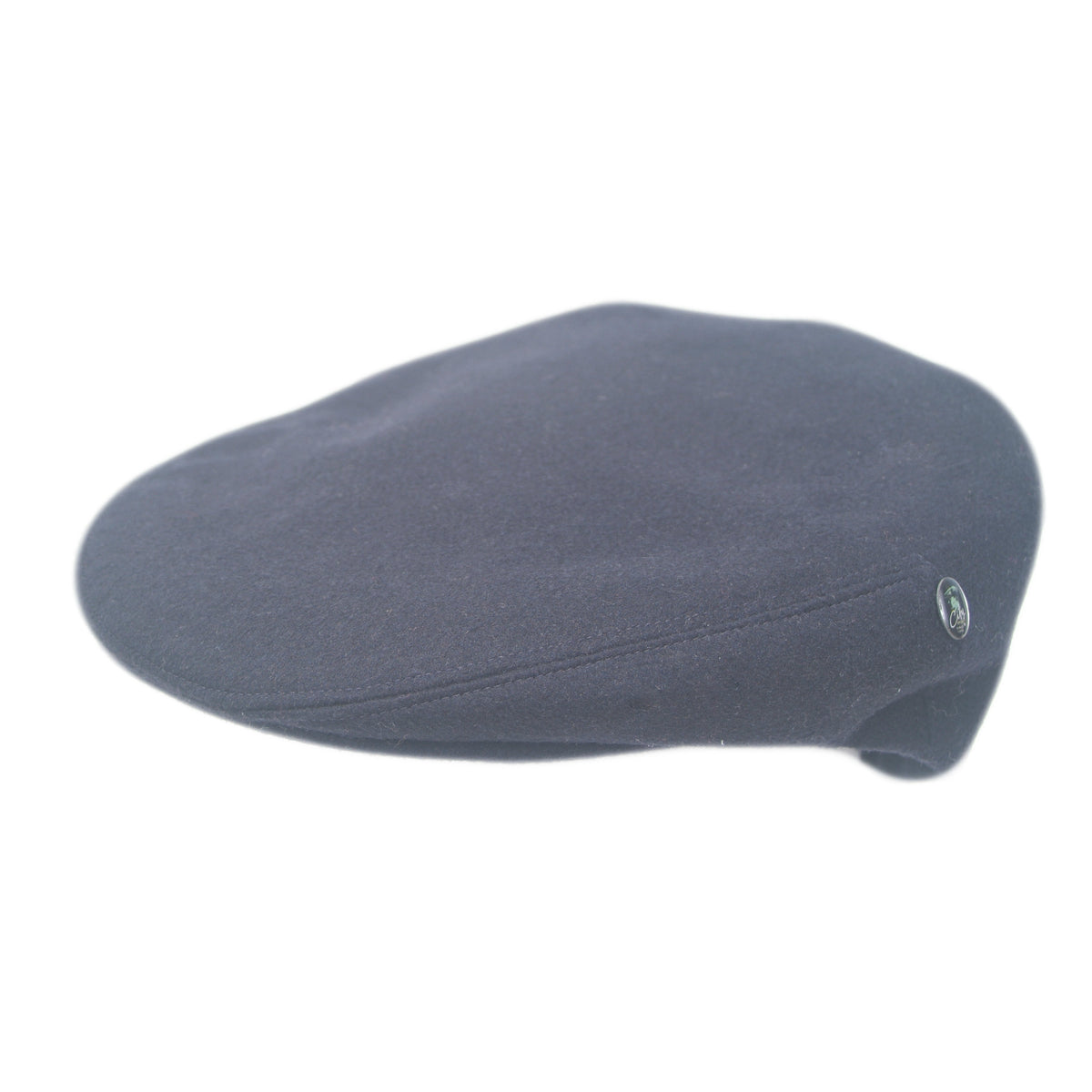 Navy Blue Mens Flat Cap | Pure Cashmere | by City Sport | buy now at The Cashmere Choice London