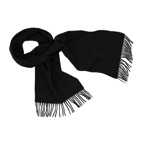 Black Cashmere Scarf | buy at The Cashmere Choice | London