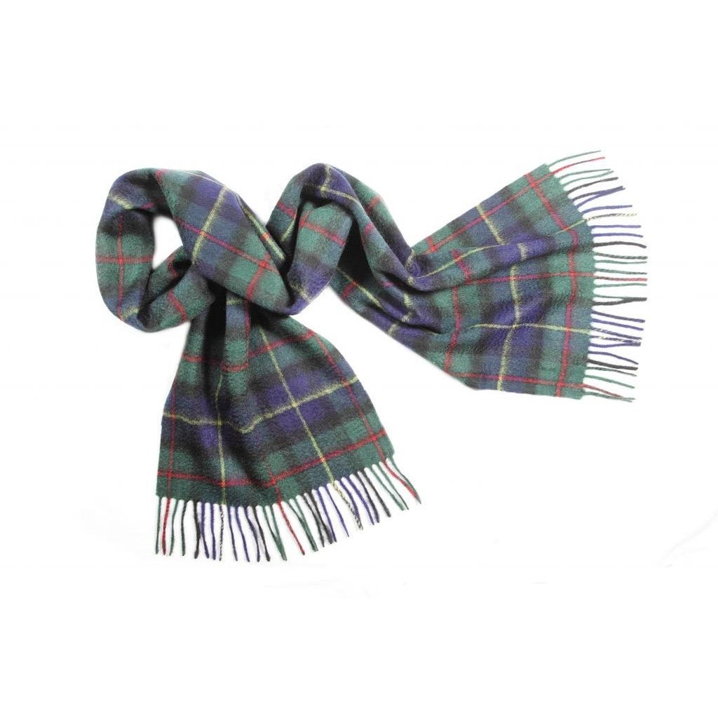 Macleod Tartan Cashmere Scarf | buy at The Cashmere Choice | London