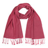 Dark Rose | Pink Pashsmina Stole | buy now at The Cashmere Choice London
