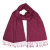 Dark Pink Pashsmina Stole | buy now at The Cashmere Choice London