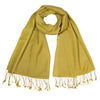 Yellow Green Pashsmina Stole | buy now at The Cashmere Choice London