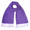 Purple Pashsmina Stole | buy now at The Cashmere Choice London