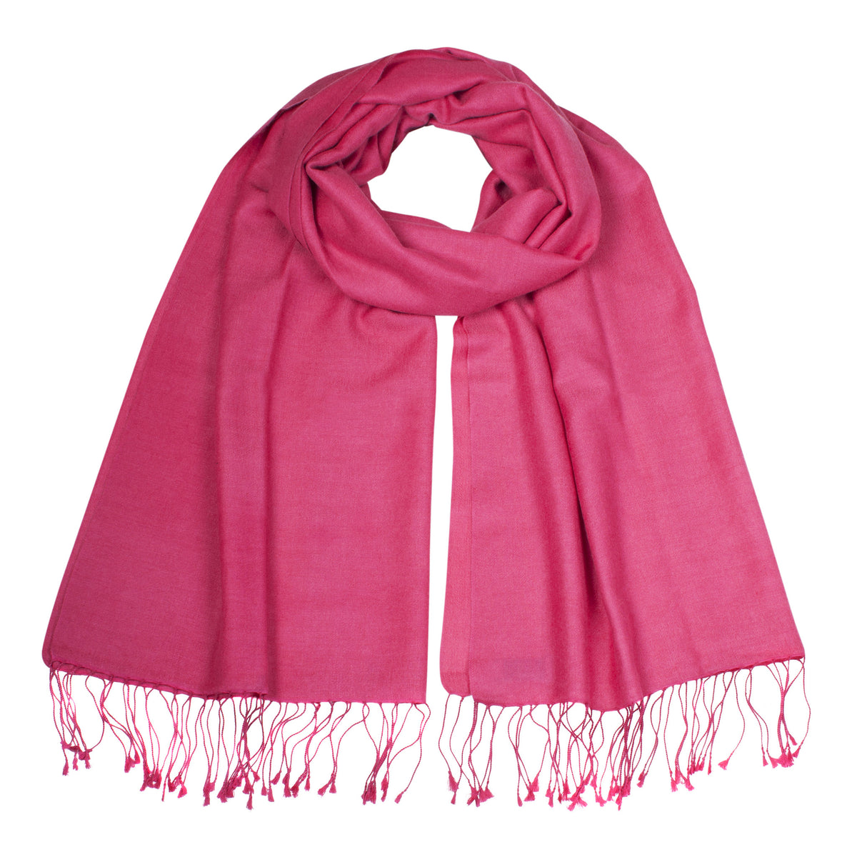 Hot Pink Pashsmina Stole | buy now at The Cashmere Choice London