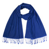 Azul | Blue Pashsmina Stole | buy now at The Cashmere Choice London