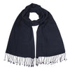 Navy | Blue Pashsmina Stole | buy now at The Cashmere Choice London