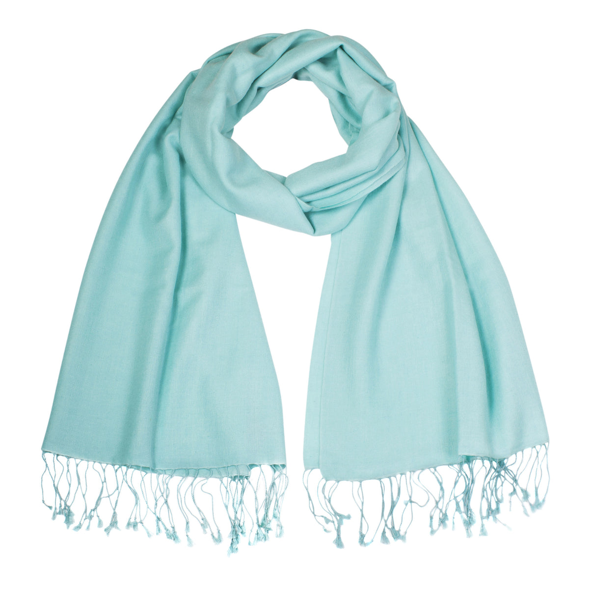 Mint | Green Pashsmina Stole | buy now at The Cashmere Choice London