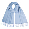 Light Blue Pashsmina Stole | buy now at The Cashmere Choice London