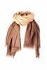 Beige Brown Shaded Light Cashmere Stole | buy now at The Cashmere Choice London