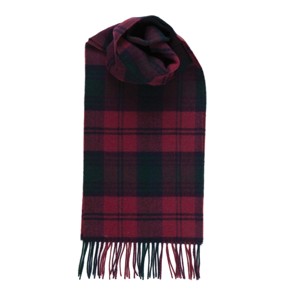 Johnsons of Elgin | Lindsay Tartan Check Cashmere Scarf | buy at The Cashmere Choice | London
