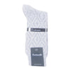 Grey Diamond Self Design Mens Cashmere Socks | buy now at The Cashmere Choice London